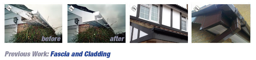 Roofline installation by JDN Plastics, Leicestershire
